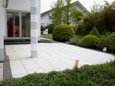 Flächenreinigung Terrasse